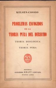 1952. Kelsen-Cossio - Problemas escogidos de la teoria pura